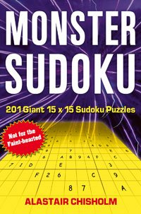 Book cover: Monster Sudoku