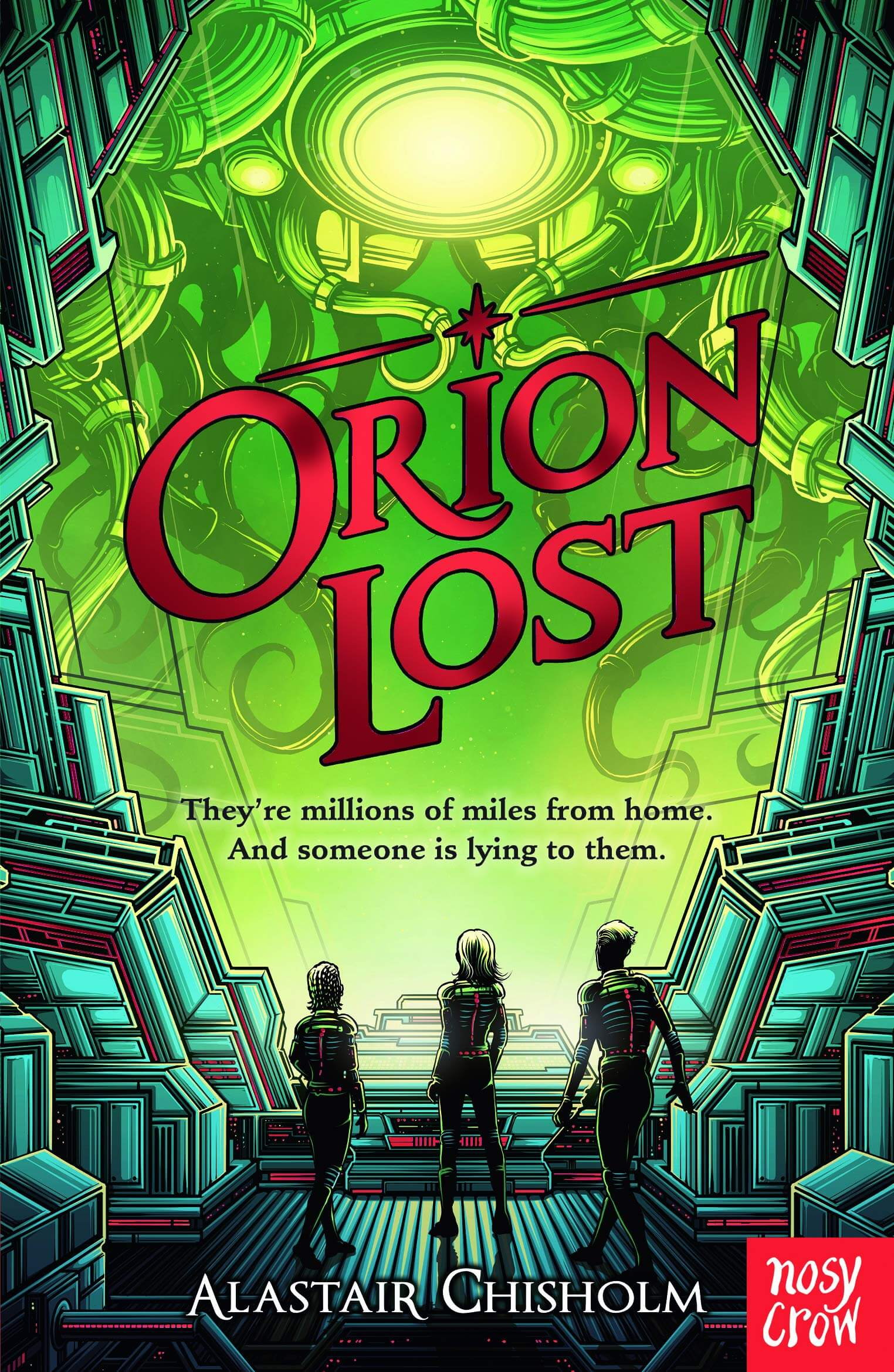 Book cover: Orion Lost